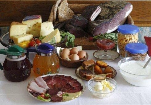 Innermitterhof - Gesundes Bauernfrühstück mit leckeren hofeigenen Produkten